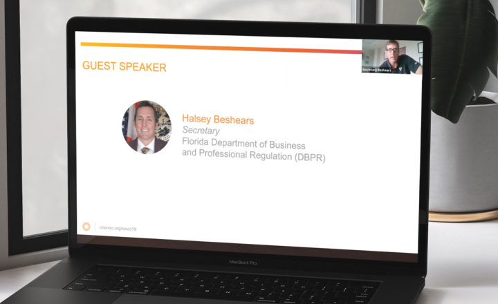 Responding to COVID-19 Webinar Replay: State Action & the Impact on the Business Community webinar header