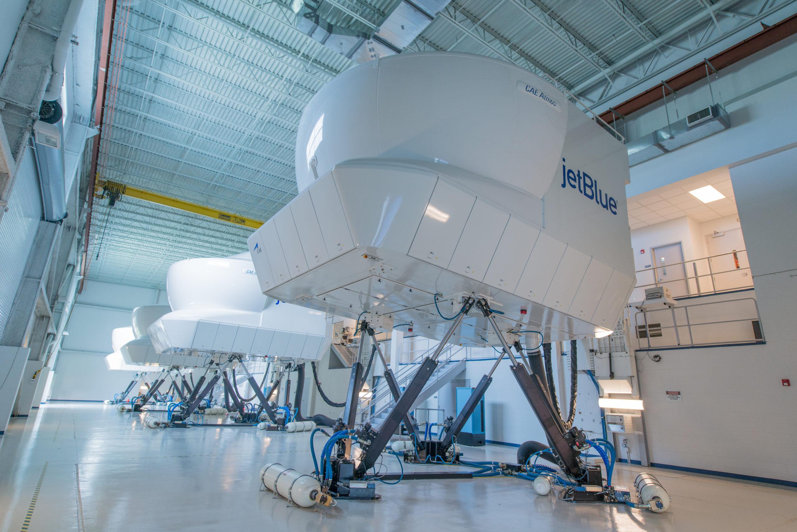 JetBlue training simulator